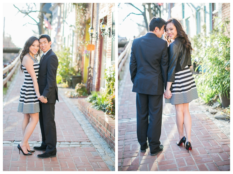 jessica leon georgetown washington dc engagement session by sharon nicole photography