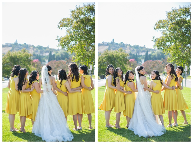 christina and aaron los angeles wedding by sharon nicole photography
