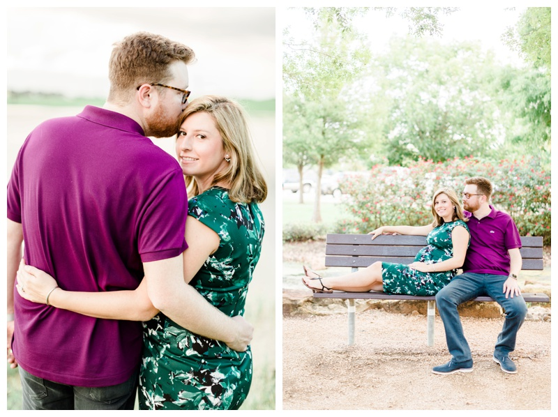 floral berry green field sugar land maternity session by sharon nicole photography