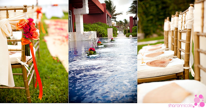 Meghan and Wayne wedding in Mexico at Zoetry Resort by Houston wedding photographer Sharon Nicole Photography