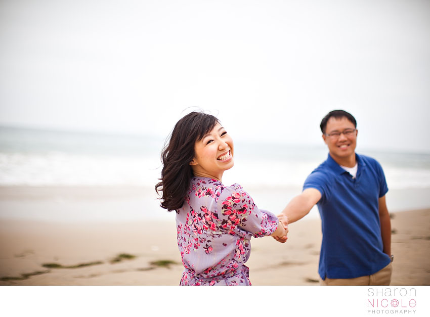 cindy and stuart crystal cove engagement session by sharon nicole photography